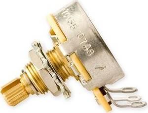 Bilde av Potmeter 500K LOG Gibson S&A