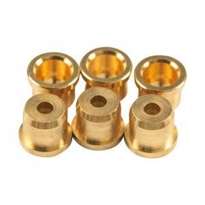 Bilde av Kluson Fender Telecaster strengestopper - gull (sett med 6)