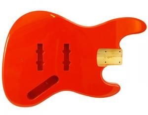 Bilde av Jazz Bass Body - Fiesta Red