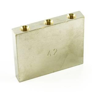Bilde av Floyd Rose Original 42mm Tremolo Block Brass Nickel