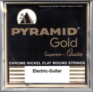 Bilde av Pyramid Gold Flatwound - 013 - 052